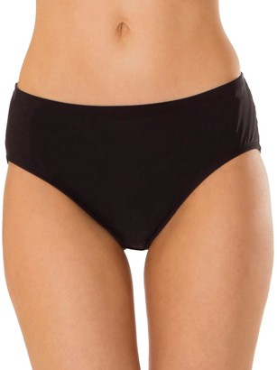 93c54d186bd35 Women's Mazu Swim Hip Minimizer Midrise Brief Bikini Bottoms