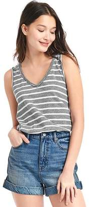 V-neck stripe tank $29.95 thestylecure.com