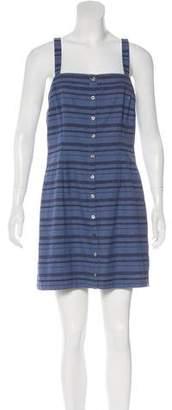Mara Hoffman Striped Mini Dress w/ Tags