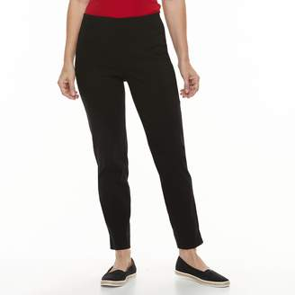 Croft & Barrow Women's Polished Pull-On Ankle Pants