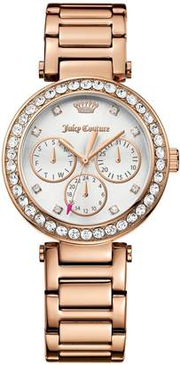 Juicy Couture Rose Gold Cali Watch