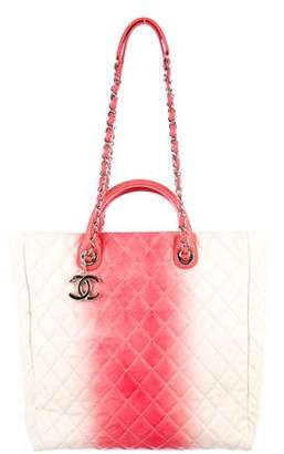 Chanel Quilted Caviar Ombré Shopper Tote