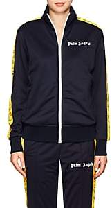 Palm Angels Women's Smiley-Face Tech-Jersey Track Jacket - Navy