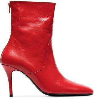 Dorateymur red Town & Country 90 leather boots