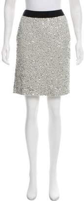 Lanvin Sequin Embellished Knee-Length Skirt