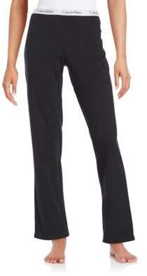 Calvin Klein Logo-Waist Pajama Pants