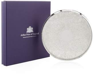 "Arthur Price Of England 11"" Round Embossed Gallery Tray"