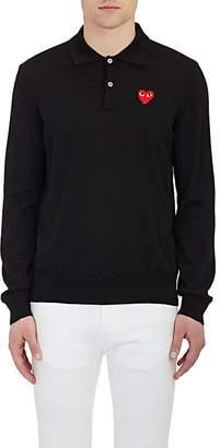Comme des Garcons Men's Heart Polo Sweater