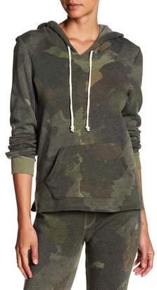 Alternative Print Fleece Hooded Pullover