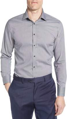 Nordstrom Extra Trim Fit Non-Iron Solid Dress Shirt