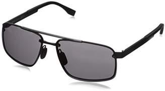 HUGO BOSS BOSS by Mens B0773s Rectangular Sunglasses