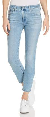 AG Jeans Prima Crop Straight Jeans in 20 Years Oceana