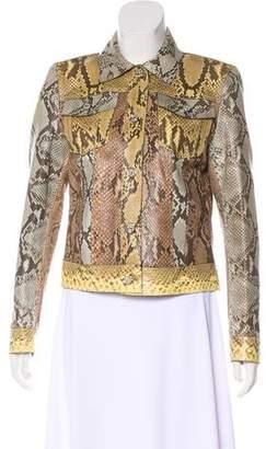 Gucci Python Patchwork Jacket