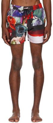 Paul Smith Multicolor Collage Swim Shorts