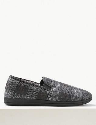 "Marks and Spencer Slip-on Slipper Shoes with Freshfeetâ""¢"