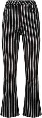 Paige Denim Colette Crop Flare Jeans
