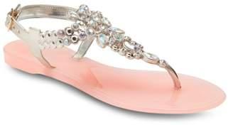 OLIVIA MILLER Jelly Sandal