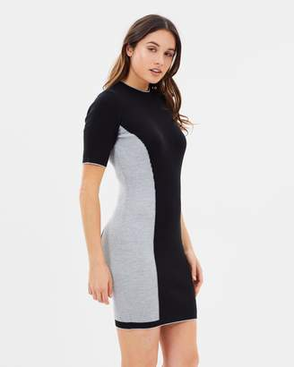 Dorothy Perkins Side Striped Knitted Dress