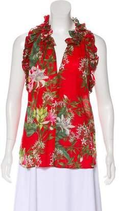 Etoile Isabel Marant Floral Sleeveless Top