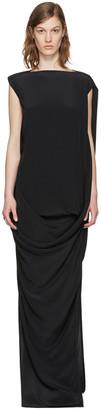 Rick Owens Black Nouveau Dress $1,270 thestylecure.com