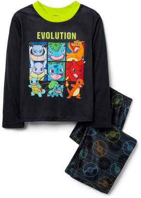 Crazy 8 Crazy8 Pokemon 2-Piece Pajama Set