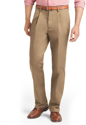 Izod Big & Tall Pleated Chino Pants