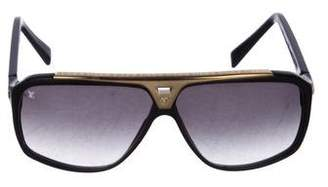 Louis Vuitton Evidence Aviator Sunglasses