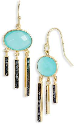 Joya Collections by Deco Diamond Fringe Drop Earrings