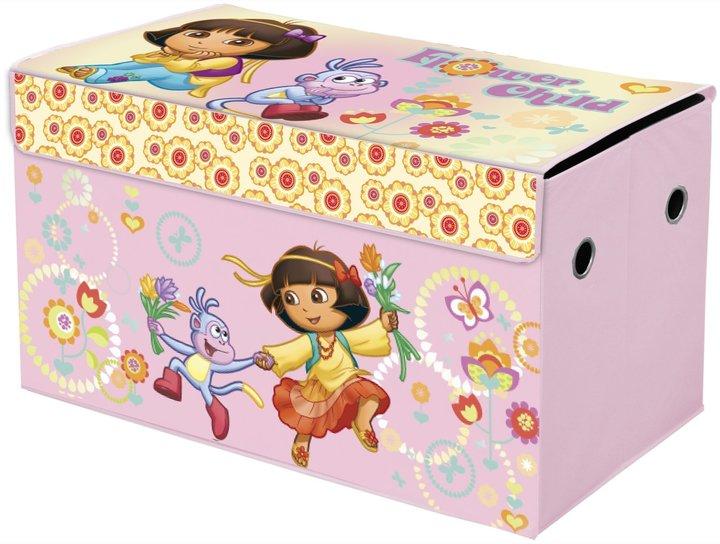 Nickelodeon Dora Collapsible Storage Trunk