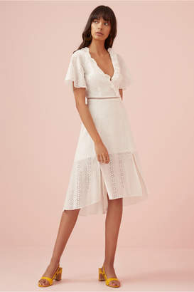 Finders Keepers SUNDAYS DRESS white