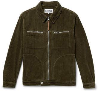 Loewe Cotton-Corduroy Jacket