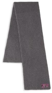 Class Roberto Cavalli Hand-Knit Wool Scarf