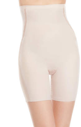 Spanx Assets Red Hot Label By Luxe & Lean Scalloped High-Waist Mid-Thigh Shaper