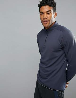 Perry Ellis 360 Sports 1/4 Zip Sweat in Navy