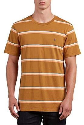 Volcom Men's Sheldon Short Sleeve Knit Crew Shirt