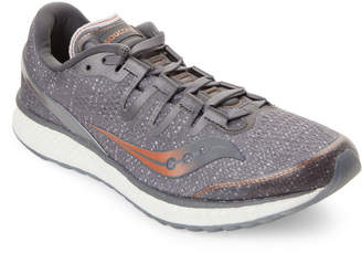 Saucony Grey & Copper Freedom ISO Running Sneakers