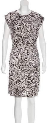 Diane von Furstenberg Rocco Tribal Tattoo Dress