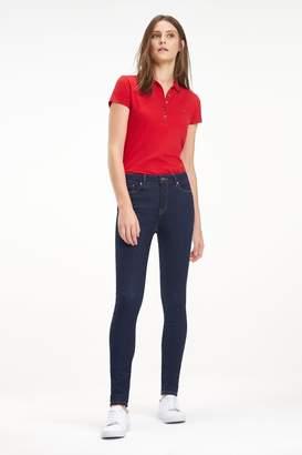 Tommy Jeans Womens Blue Steffie Como Skinny Jean - Blue