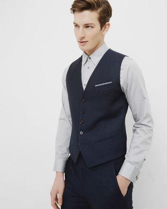 Linen vest $235 thestylecure.com