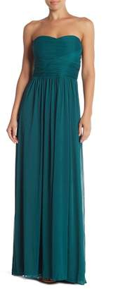 Marina Strapless Roused Gown