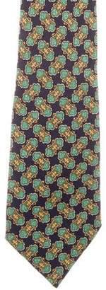 Celine Silk Jacquard Tie