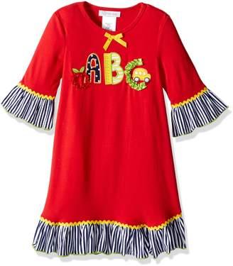 Bonnie Jean Little Girls' Appliqued Dress