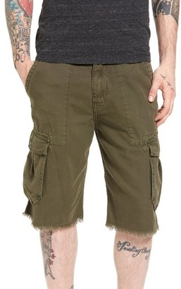 Men's True Religion Brand Jeans Military Cargo Shorts $149 thestylecure.com