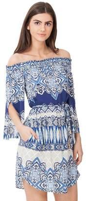 Hale Bob Kalia Off-Shoulder Dress