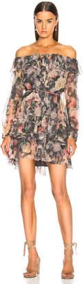 Zimmermann For FWRD Sunny Off Shoulder Dress