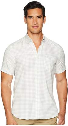 Fred Perry Distorted Gingham Shirt Men's Clothing