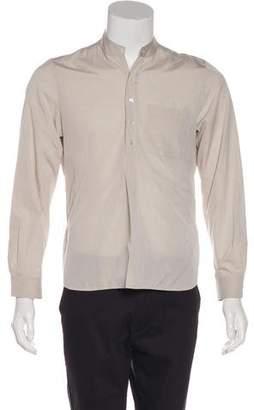 Balenciaga 2002 Long Sleeve Button-Up Shirt