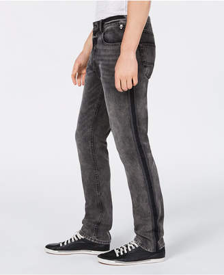 American Rag Men's Slim-Fit Sterling Side Stripe Jeans, Created for Macy's