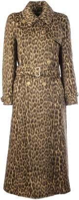 Max Mara Leopard Print Coat