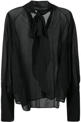 Petar Petrov sheer blouse
